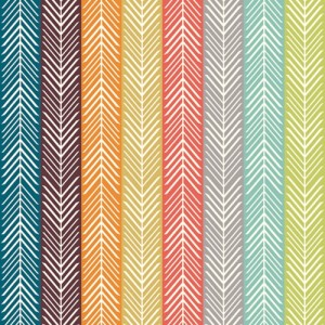 Quill Stripe Multi BIRCH ORGANIC
